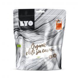 Liofilizat Lyofood EKO CHILI SIN CARNE z polentą 82g (na porcję 370g, 306 kcal)