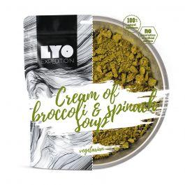 Liofilizat Lyofood ZUPA KREM brokułowo szpinakowy 30g (na porcję 370g, 110 kcal)