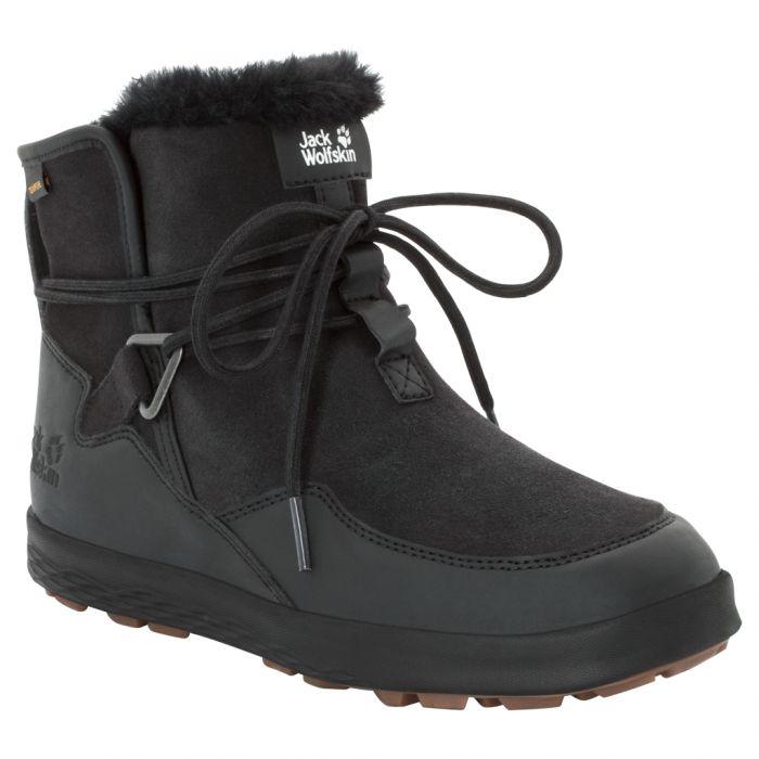 Buty zimowe damskie AUCKLAND WT TEXAPORE BOOT W black black