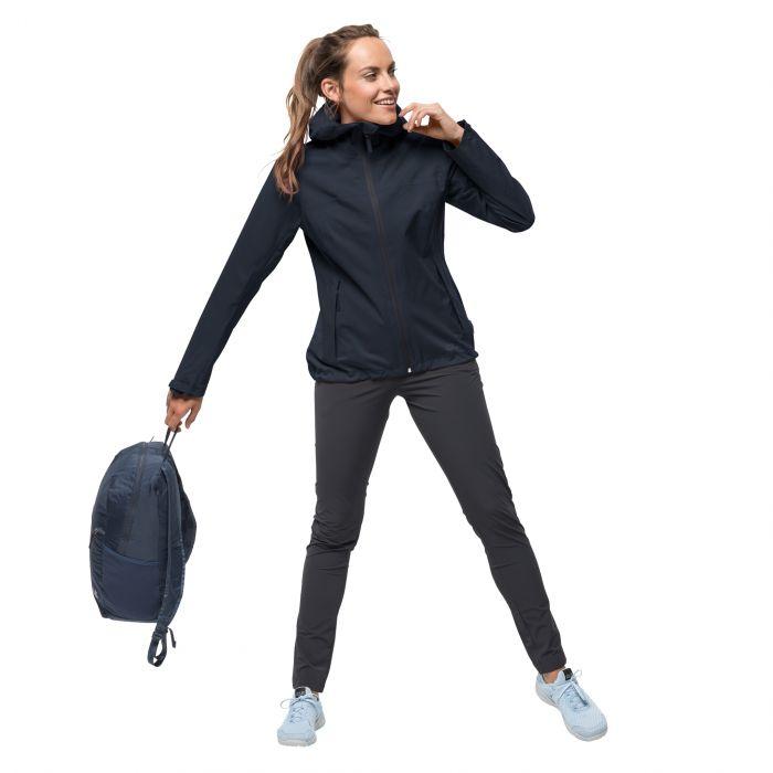 nowe promocje kupować sportowa odzież sportowa Przeciwdeszczowa kurtka damska JWP SHELL W night blue