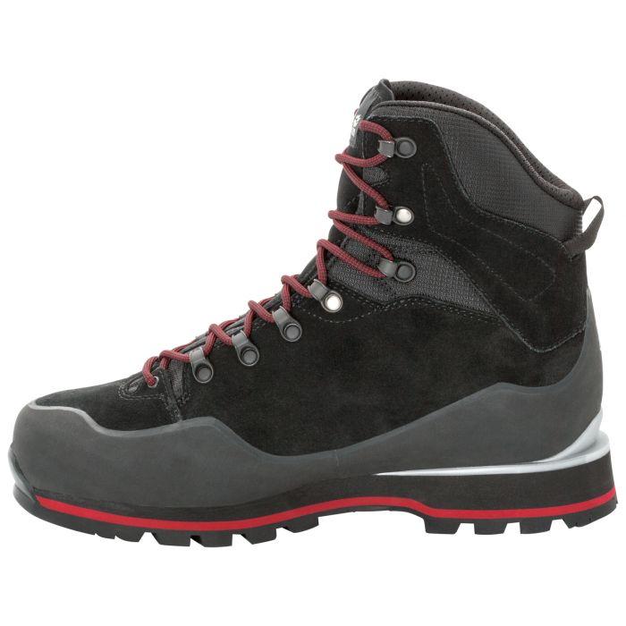 Buty w góry męskie WILDERNESS PEAK TEXAPORE MID M black red