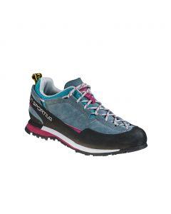 Buty podejściowe damskie La Sportiva Boulder X slate/plum