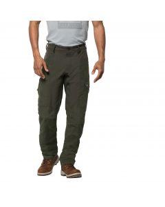 Męskie spodnie DAWSON FLEX PANTS MEN dark moss