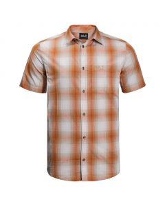 Koszulka HOT CHILI SHIRT M desert orange checks