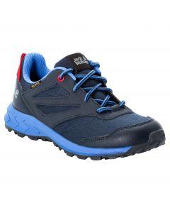 Buty dla dzieci WOODLAND TEXAPORE LOW K Dark Blue / Red