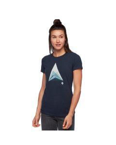 Damska koszulka Black Diamond MOUNTAIN TRANSPARENCY eclipse heather
