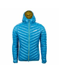 Kurtka puchowa BREEZE HOODY WOMEN blue
