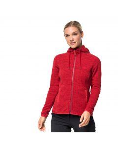 Damska kurtka z kapturem PATAN HOODED JACKET W ruby red