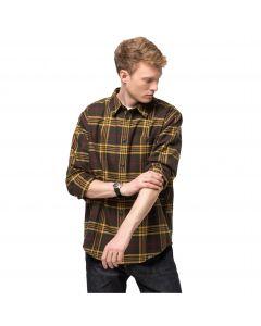 Męska koszula flanelowa CABIN VIEW SHIRT M Bonsai Green Checks
