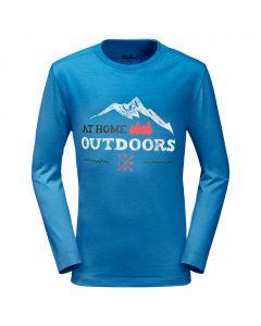 Koszulka MOUNTAIN RANGE LONGSLEEVE brilliant blue
