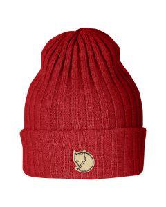 Wełniana czapka Fjallraven Byron Hat red