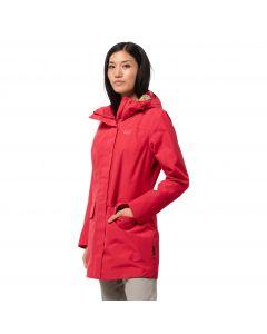 Płaszcz damski CAPE YORK PARADISE COAT W tulip red