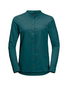 Damska koszula VICTORIA ROLL-UP SHIRT teal green