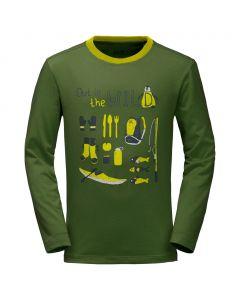 Koszulka OUT IN THE WILD LONGSLEEVE deep forest