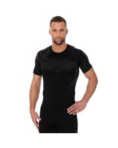 Koszulka termoaktywna męska Brubeck Dry SS11970 graphite/black