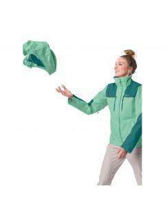 Kurtka turystyczna damska JASPER JKT W pacific green