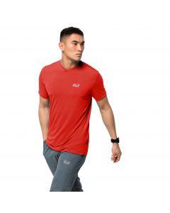 Męski T-shirt JWP T M lava red