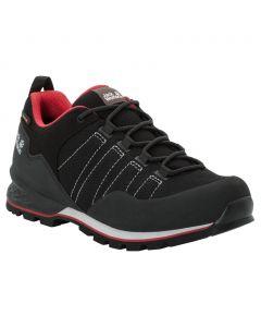 Męskie buty trekkingowe SCRAMBLER LITE TEXAPORE LOW M black / red