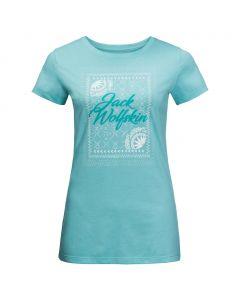 Damska koszulka SEA BREEZE T aqua