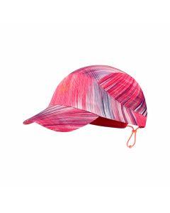 Czapka z daszkiem Buff PACK RUN CAP pixel pink s/m