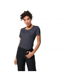 Koszulka sportowa damska TECH T W Graphite