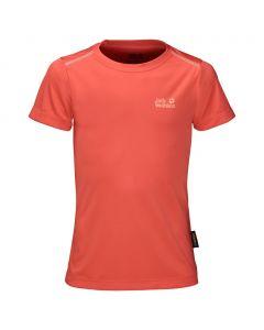 Koszulka SHORELINE T GIRLS hot coral