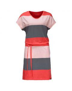 Sukienka ISLA DEL SOL DRESS tarmac grey stripes