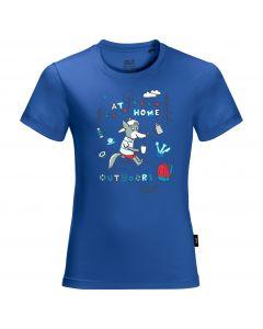 Koszulka dziecięca HAPPY CAMPER T KIDS coastal blue