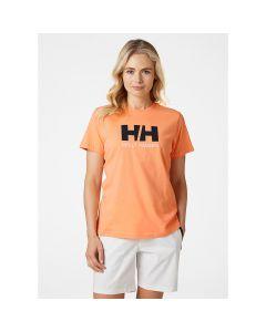 Koszulka damska Helly Hansen LOGO T-SHIRT melon