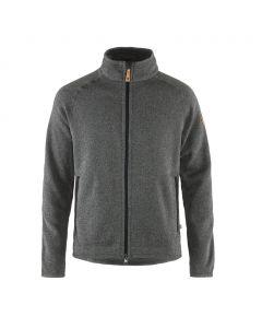 Męska Bluza Fjallraven Ovik Fleece Zip Sweater grey