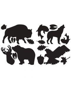 Łatki samoprzylepne TENACIOUS TATTOS Wildlife