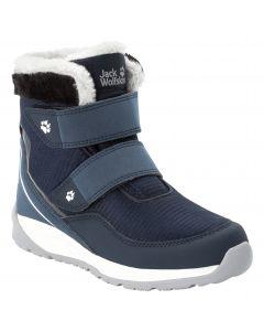 Buty zimowe dla dzieci POLAR WOLF TEXAPORE MID VC K Dark Blue / Off-White
