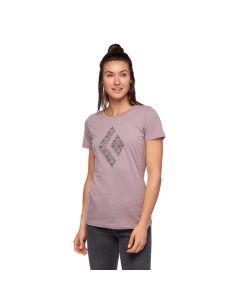 Damska koszulka Black Diamond SNOW DIAMOND TEE wood violet