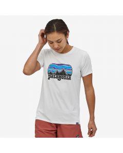 T-shirt damski Patagonia Capilene® Cool Daily white