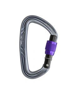 Karabinek NITRON SCREWGATE violet