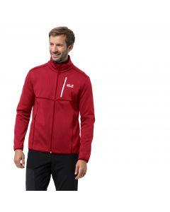 Męska kurtka polarowa KIEWA JACKET M red lacquer