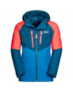 Kurtka narciarska dziecięca GREAT SNOW JACKET KIDS dark cobalt