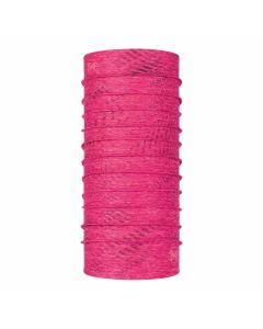 Damska chusta Buff Coolnet UV+ Reflective flash pink