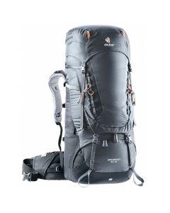Plecak turystyczny Deuter AIRCONTACT 55+10 graphite/black