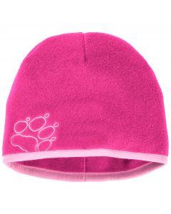 Czapka zimowa dla dzieci BAKSMALLA FLEECE HAT KIDS pink fuchsia