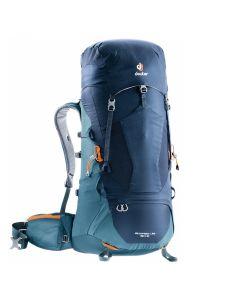 Plecak turystyczny Deuter AIRCONTACT LITE 50+10 navy/arctic