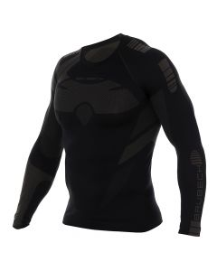 Koszulka DRY MEN LS13080 graphite/black