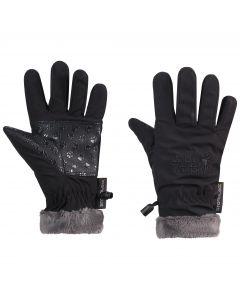Rękawice SOFTSHELL HIGHLOFT GLOVE KIDS black