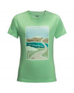 T-shirt dziecięcy TREASURE HUNTER T KIDS spring green