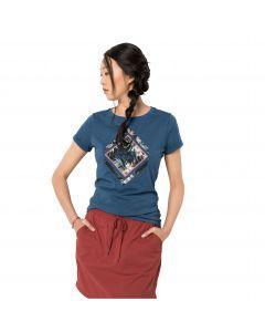 T-shirt damski TROPICAL SQUARE T W ocean wave