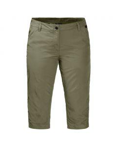 Spodnie damskie KALAHARI 3/4 PANTS WOMEN khaki