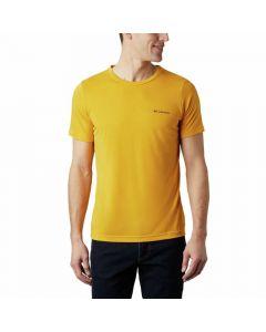 Koszulka COLUMBIA Maxtrail SS Logo Tee Gold