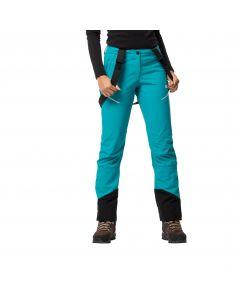 Spodnie softshell damskie GRAVITY TOUR PANTS WOMEN Dark Cyan