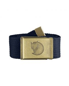 Pasek  do spodni Fjallraven Canvas Brass Belt dark navy