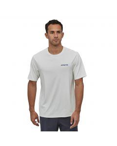 Męski T-shirt Patagonia Capilene® Cool Daily Boardshort Logo: White